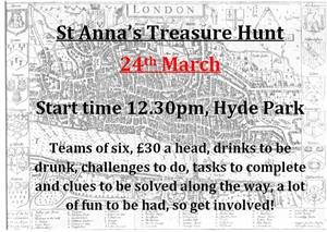 St Anna's Treasure Hunt